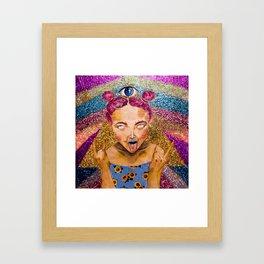 WATEVA 4 EVA Framed Art Print