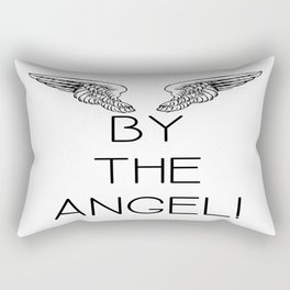 By the Angel! Rectangular Pillow