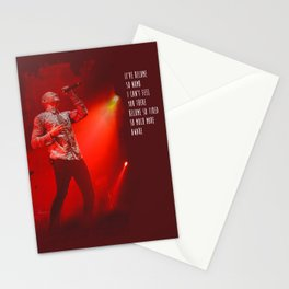 Crawling | Chester Bennington Inspired Lyric Art Print Stationery Cards