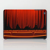 theatre iPad Cases featuring Classic Theatre by creations by Cinnamon