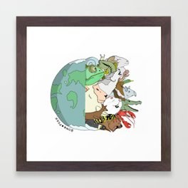 Animal Planet Framed Art Print