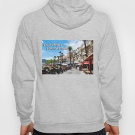 Sidewalk Cafe at Calvi France Hoody