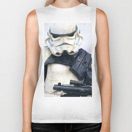 Stormtrooper Portrait Biker Tank