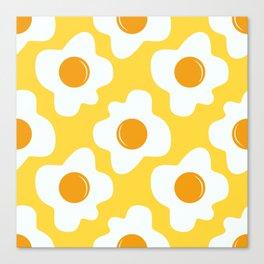 Scrambled eggs Canvas Print