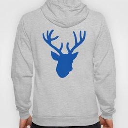 Deer Head: Blue Hoody