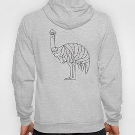 Minimalist Emu Hoody