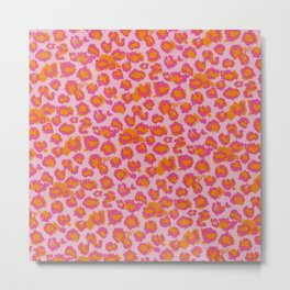 Animal print pattern Metal Print