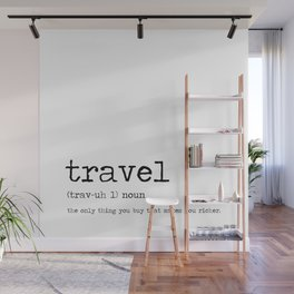 Travel by definition Wall Mural