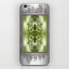 Hordeum Jubatum Abstract iPhone & iPod Skin