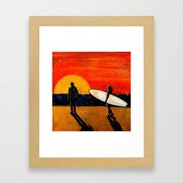 Big Sun Framed Art Print