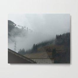 Swiss Fog Metal Print