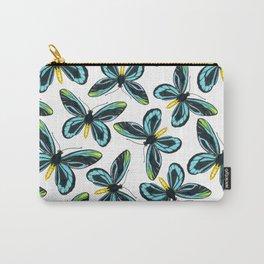 Queen Alexandra' s birdwing butterfly pattern design Carry-All Pouch