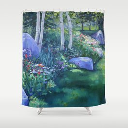 Aspen Glade Shower Curtain