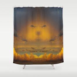 Laingsburg Sunset Shower Curtain