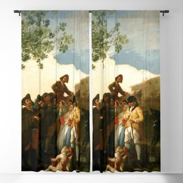 "Francisco Goya ""The Blind Guitar Player"" Blackout Curtain"