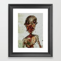 Hungry For Human Flesh Framed Art Print