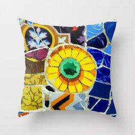 Gaudi Series 1 Throw Pillow