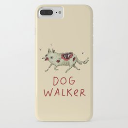 Dog Walker iPhone Case