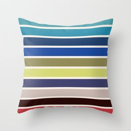 The colors of - kiki's delivery service  Throw Pillow