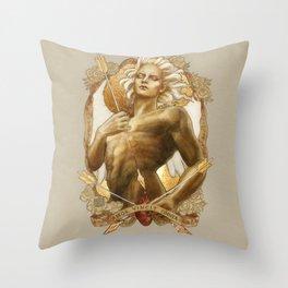Amor Vincit Omnia Throw Pillow