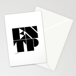 Type Type for ENTP Stationery Cards