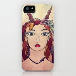Lady of the Wood iPhone Case