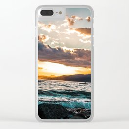 Sechelt Sunset Clear iPhone Case