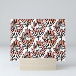 Protea Orange #homedecor Mini Art Print