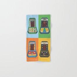 Batteries Not Included Coleco Mini Arcade Hand & Bath Towel
