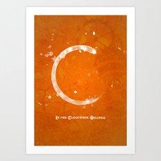 C is for A Clockwork Orange Art Print