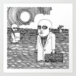 CD BOX Calvos Art Print