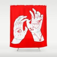 crane Shower Curtains featuring Marion Crane by scoobtoobins