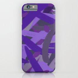 Hurry Purple iPhone Case