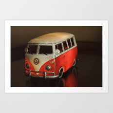 I want to go camping Art Print