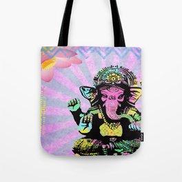 Ganesha Rainbow Tote Bag
