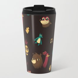 banjo pattern Travel Mug