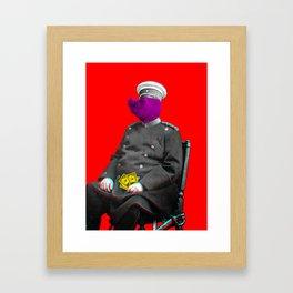 General Schweinebacke Framed Art Print