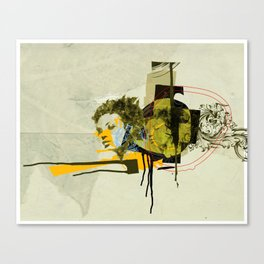 girl with short hair Canvas Print