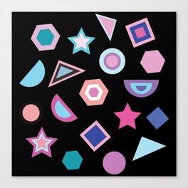 Geometric Pattern V Canvas Print