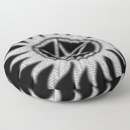 Carry On Supernatural Pentacle Floor Pillow