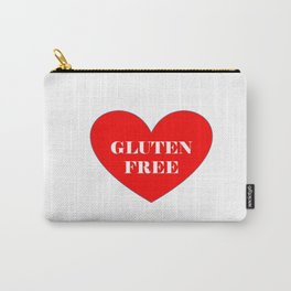 GLUTEN FREE HEART Carry-All Pouch