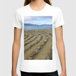 Lands end San Francisco golden gate T-shirt