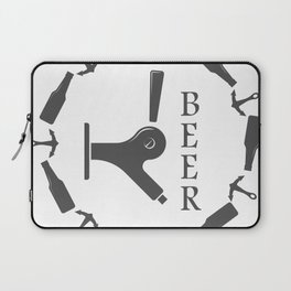 Brewery Beer Pub Handcrafted style Fashion Modern Design Print! Laptop Sleeve