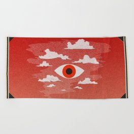Safety Matches: Psyche Beach Towel