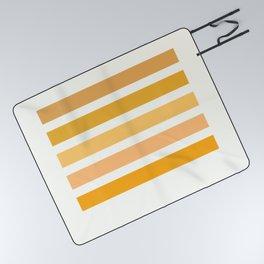 Sunburst Art Print Picnic Blanket