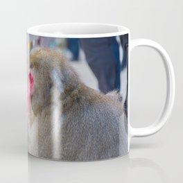 Pensive Snow Monkey Coffee Mug
