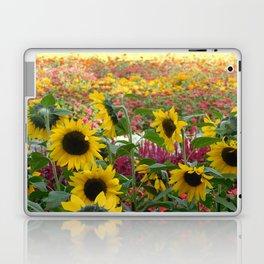 Sunflower Fields Laptop & iPad Skin