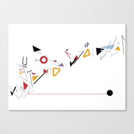 THIRDS Canvas Print