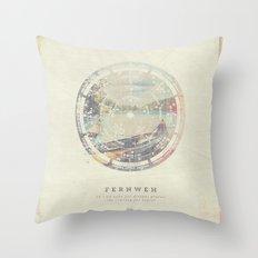 Fernweh Vol 8 Throw Pillow