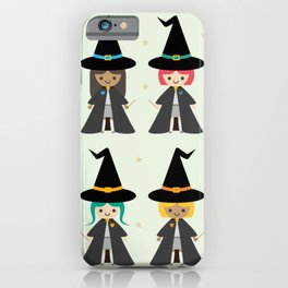 Cute Kawaii Witches iPhone Case